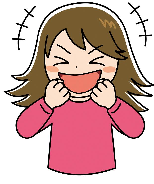 ゲラゲラ笑う子供